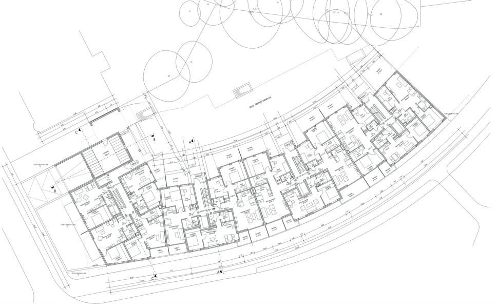 Neubau einer Wohnanlage mit 78 WE und TG München, Bodenseestrasse
