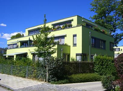 Neubau einer Wohnanlage mit 22 WE und TG München, Seebauerstrasse