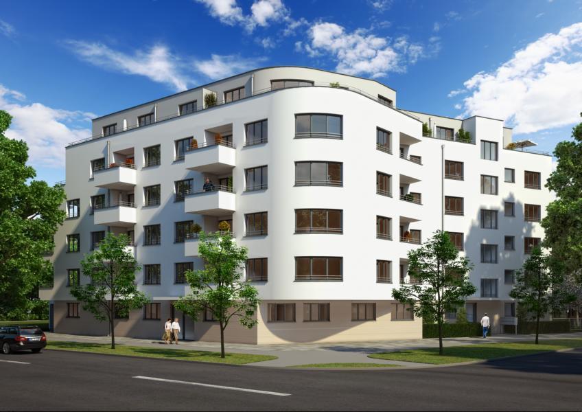 Neubau einer Wohnanlage mit 43 WE und TG München, Schwanseestrasse