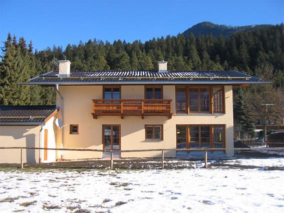 Neubau eines Einfamilienhauses Garmisch-Partenkirchen, Hölzlweg