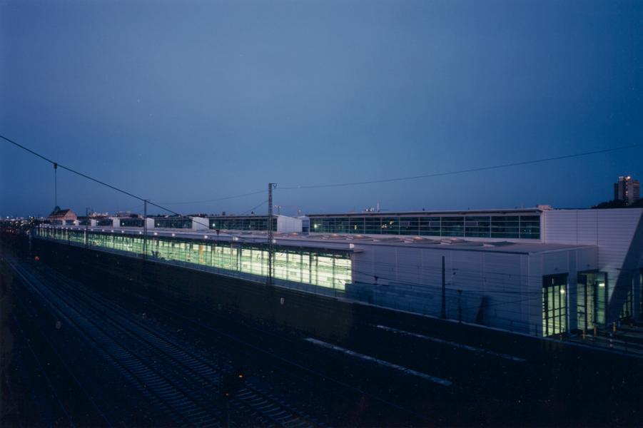 Neubau eines ICE-Werks München