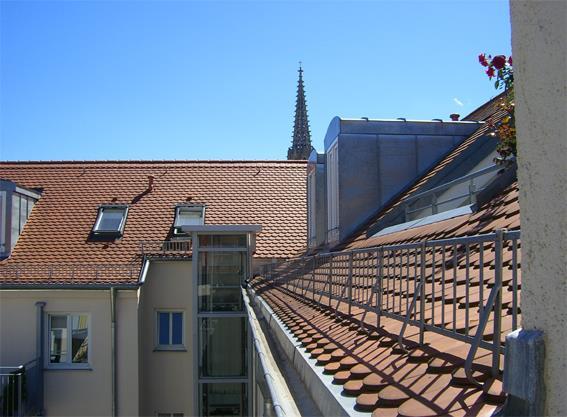 Dachgeschossausbau von sechs Mehrfamilienhäuser München, Mariahilfstrasse