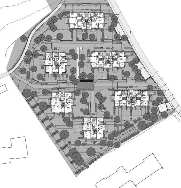 Neubau einer Wohnanlage mit 75 WE und TG Starnberg