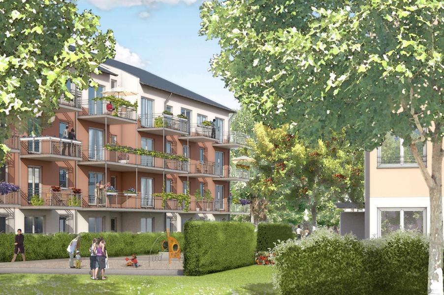 Neubau einer Wohnanlage mit 85 WE und TG München, Traunreuter Strasse