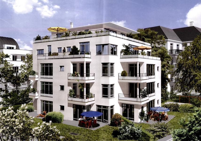 Neubau einer Wohnanlage mit 10 WE und TG München, Türkenstrasse